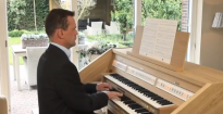 Psalm 138 by H. van Vliet played on the new Johannus Opus 250