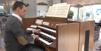 Introduction of the new Johannus Vivaldi 350 by André van Vliet