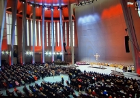 Ecclesia D-450 for the opening of the Temple of Divine in Warsaw, Poland